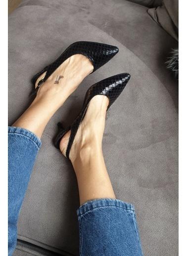 Topukla Casual Ayakkabı Siyah